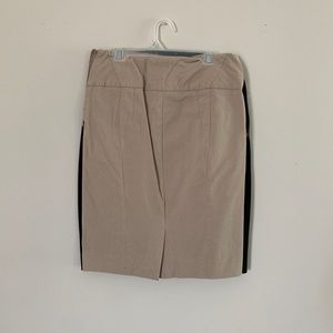 The Limited Beige Pencil Skirt